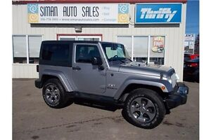 2016 Jeep Wrangler Sahara SALE*Manual*PST PAID