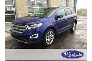 2015 Ford Edge Titanium REDUCED! Was $38,990. AWD, LEATHER, R...