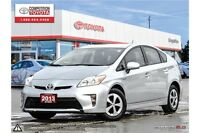 2013 Toyota Prius Base Toyota Certified, One Owner, No Accidents