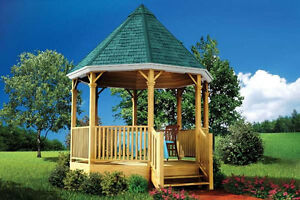 BUILD YOUR OWN GAZEBO AS A SUMMER PROJECT