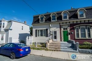 Three bedroom semi-detached home in heart of downtown St. John`s
