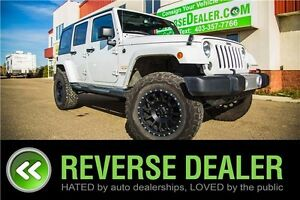 2015 Jeep Wrangler Unlimited Sahara ** 4X4, 2.5 INCH LIFT **