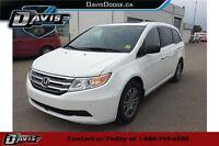 2013 Honda Odyssey EX-L EX-L, FWD, REAR DVD PLAYER, SUNROOF