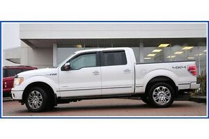 2011 Ford F-150 Platinum/LEATHER/4X4/PWR RUNNING BDS/HEAT&COO... Kitchener / Waterloo Kitchener Area image 5