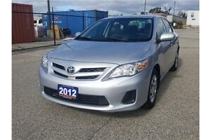 2012 Toyota Corolla CE | ONLY 63K | CERTIFIED