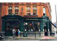 Part Time Bar Staff The Peasant Islington EC1 - £8.50 - £9.50 per hour