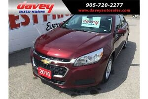 2016 Chevrolet Malibu Limited LT BLUETOOTH, ALLOY WHEELS, SAT...