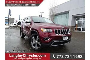 2016 Jeep Grand Cherokee Limited ACCIDENT FREE w/ LEATHER & R...