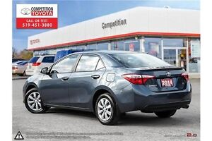 2014 Toyota Corolla S One Owner, No Accidents, Toyota Serviced London Ontario image 4