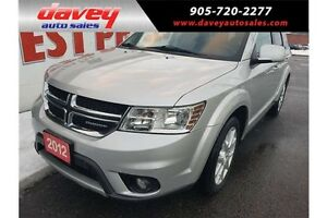 2012 Dodge Journey SXT & Crew BLUETOOTH,  SUNROOF, DUAL CLIMATE