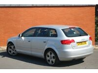 2006 Audi A3 FSI SPORTSBACK***PARKING SENSOR***PARROT BLUE TOOTH***EXCELLENT CONDITION & DRIVES WELL