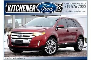 2014 Ford Edge Limited Limited/FWD/LEATHER/PANO ROOF/CAMERA/N...