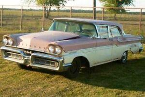 58 Mercury 2 dr HT Project Cars
