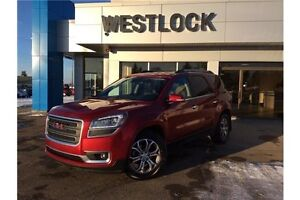 2014 GMC Acadia SLT1 7 inch color touchscreen with navigation