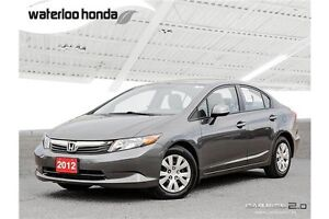 2012 Honda Civic LX One Owner. Automatic, A/C and More!