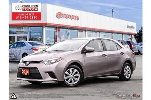 2014 Toyota Corolla LE Toyota Certified, One Owner, Toyota Se...
