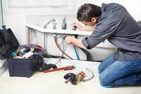 Professional and Reliable Plumbing Service for just $40/HR.