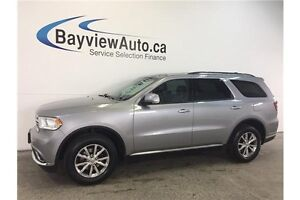 2015 Dodge DURANGO LTD- AWD! SUNROOF! NAV! LEATHER! U-CONNECT!