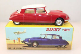 Citroen DS Dinky atlas corgi solido matchbox model toy