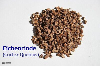 Eichenrinde, getrocknet, geschnitten, 100 g (Cortex Quercus)