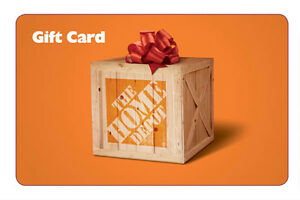 Home Depot Store - $8.30 Store Credit Gift Card