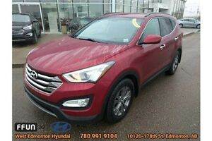 2013 Hyundai Santa Fe Sport AWD bluetooth Heated steering wheel Edmonton Edmonton Area image 2