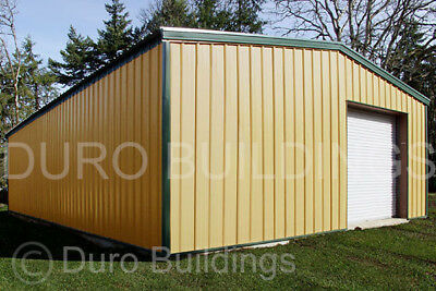 Durobeam Steel 36x36x16 Metal Garage Building Kits Residential Workshops Direct
