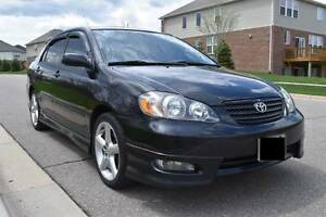 2006 Toyota Corolla XRS Sedan - Manual Transmission