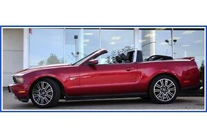 2010 Ford Mustang GT CONVERTIBLE!!/5 SPD/LEATHER/HTD SEATS/NA... Kitchener / Waterloo Kitchener Area image 4