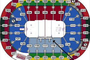 Last chance...1/4 or 1/2 Canucks Season Tickets, Bench Area