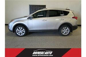 2014 Toyota RAV4 Limited AWD, SUNROOF, LEATHER, NAV