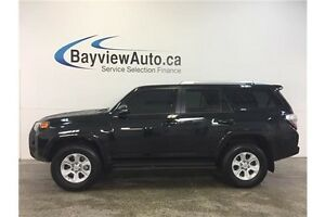 2016 Toyota 4RUNNER SR5- SUNROOF! HEATED LEATHER! NAV! 7 RIDER!