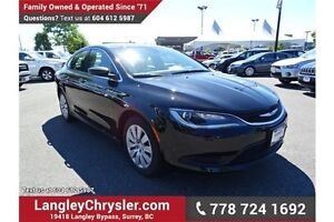 2016 Chrysler 200 LX w/ Power Accessories & A/C
