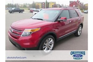 2014 Ford Explorer Limited 3.5l v6, and packed full of features!