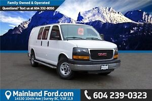2015 GMC Savana 2500 1WT LOCAL, NO ACCIDENTS