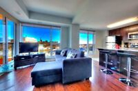 Executive 1-bedroom condo in at Lebreton Flats downtown Ottawa