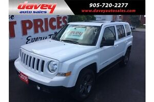 2015 Jeep Patriot Sport/North SUNROOF, HEATED LEATHER SEATS, 4X4