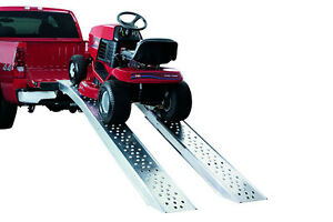 Folding aluminum truck loading ramps - new