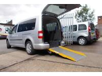 Wheelchair Accessible Volkswagen Caddy Maxi 1.9TDI