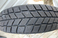 """13"""" Winter Tires Only Used One Season!"""
