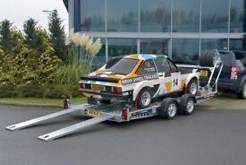 NEW - Brian James Car Transporter Trailer 5mtr