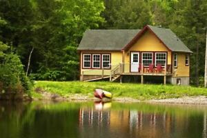 Chalets Val Carrrol  2 Chalets 93 & 95 Lakefront Harrington  Qc