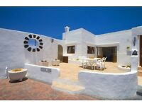 RURAL VILLA WITH GATED POOL IN LANZAROTE