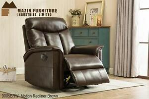 Brown Leather Recliner Chair on Sale (BD-2440)