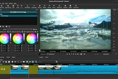 Shotcut 2019 Professional  4K Video Editing Software Windows 7 8 10 w FFmpeg
