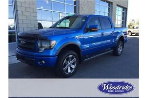 2014 Ford F-150 FX4 3.5L V6, LEATHER, REMOTE START, TOW PKG