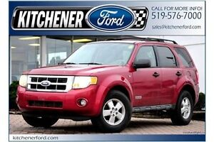 2008 Ford Escape XLT XLT/4WD/ROOF RACK/BLOCK HEATER/PWR WINDO...
