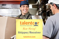 Shipper/Receiver Associate wanted in the Mississauga area!!