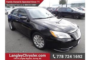 2013 Chrysler 200 LX W/ Power Accessories and A/C