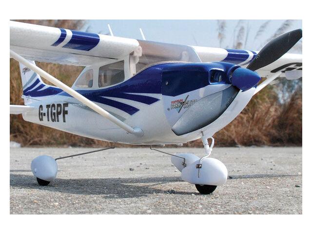 Park Flite Cessna 182 Skylane RTF 2.4Ghz - Blue: Ready To Fly RC Plane TGP0355B
